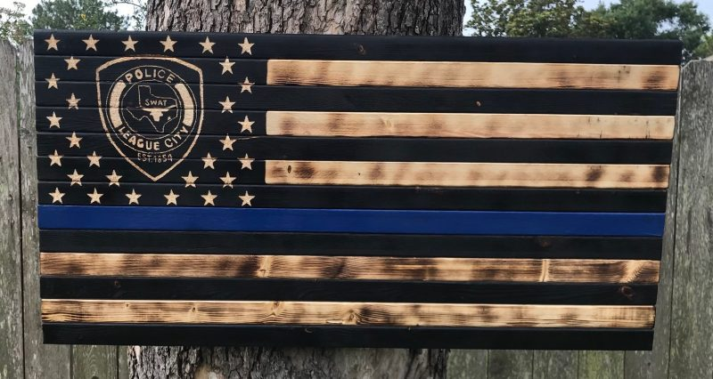Custom Blue Line LCPD SWAT